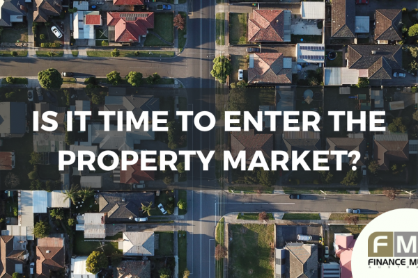 Time to enter the property market