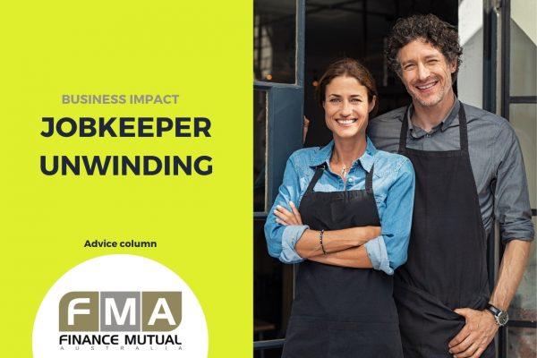 business impact: jobkeeper unwinding