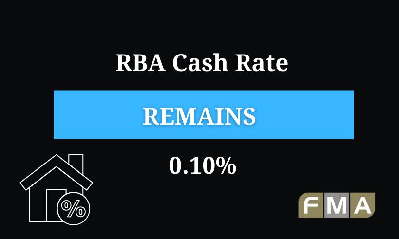 Cash Rate RBA Update